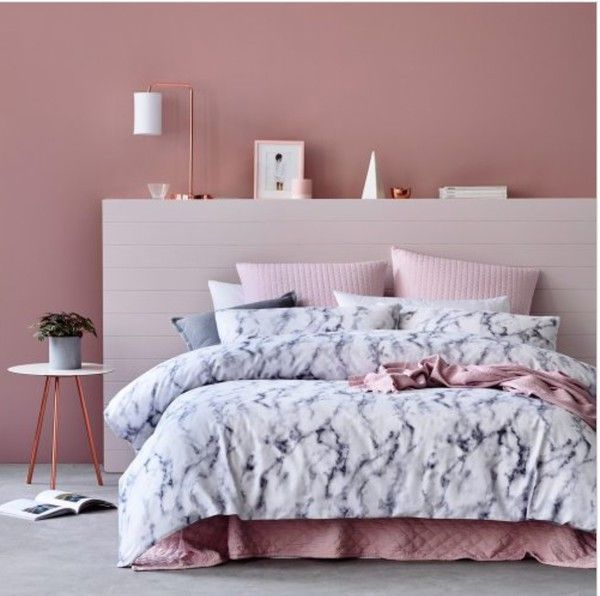 Home Accessory Bedding Tumblr Bedroom Baby Pink Blouse Marble Bedroom Bedding Grey White Urban Outfitte Rose Gold Bedroom Gold Bedroom Marble Bedroom