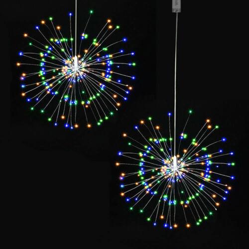 Led Feuerwerk Lichterkette Weihnachten Hochzeit Sternenlicht 8 Mode Beleuchtung Ebay Noel