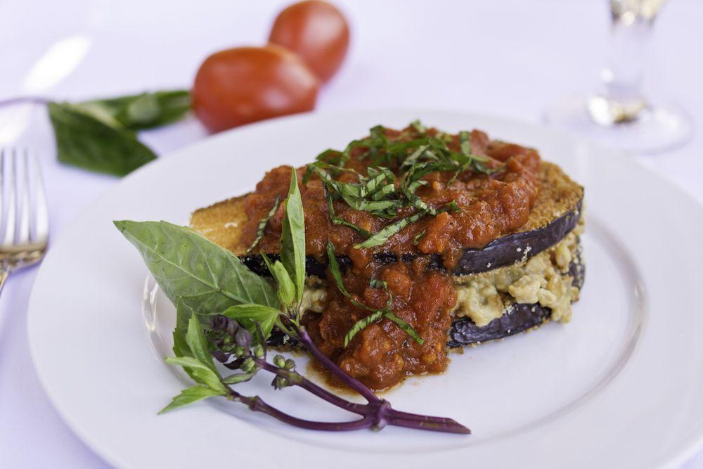 """Eggplant """"Parmesan"""" The Ornish Spectrum Rezepte"""