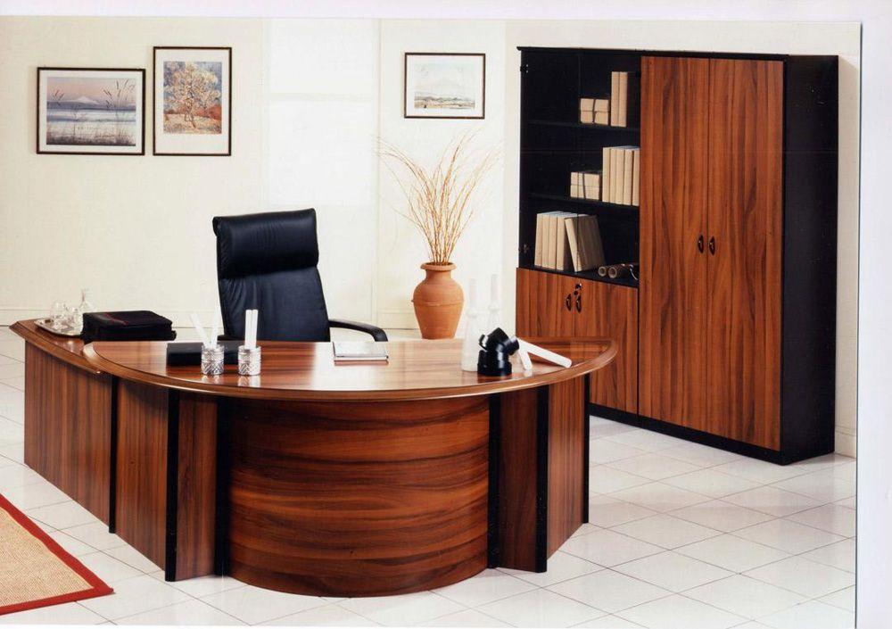 Half Circle Office Desk