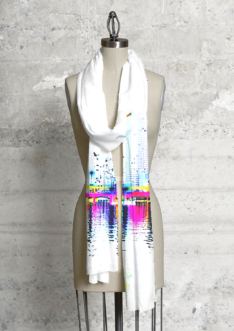 Modal Scarf - Butterfly in a Hurricane by VIDA VIDA