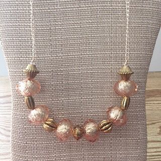 beaded statement necklace by OlgasEclecticGems on Etsy https://www.etsy.com/listing/448711968/beaded-statement-necklace