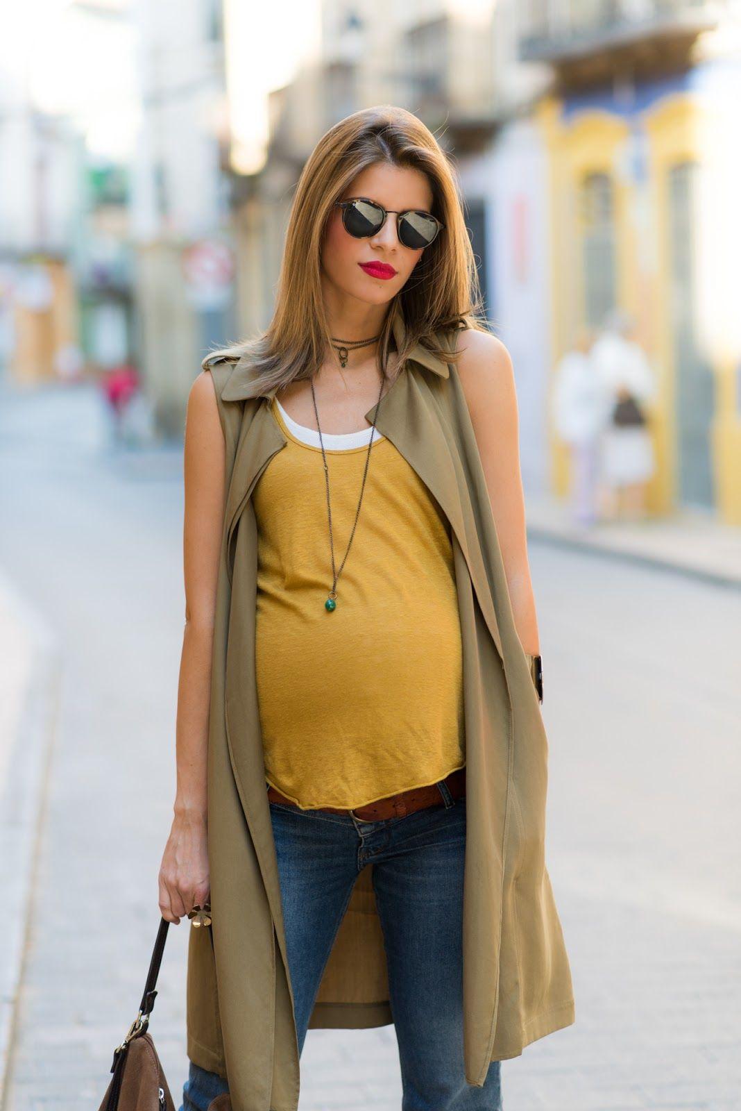 Ms Treinta - Blog de moda y tendencias by Alba. - Fashion Blogger -  37  weeks  vest 8421ff0795da9