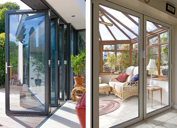 Aluminium Bi Fold Doors West Yorkshire Glazing