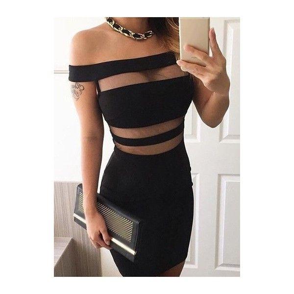 Black rotita princess style dress