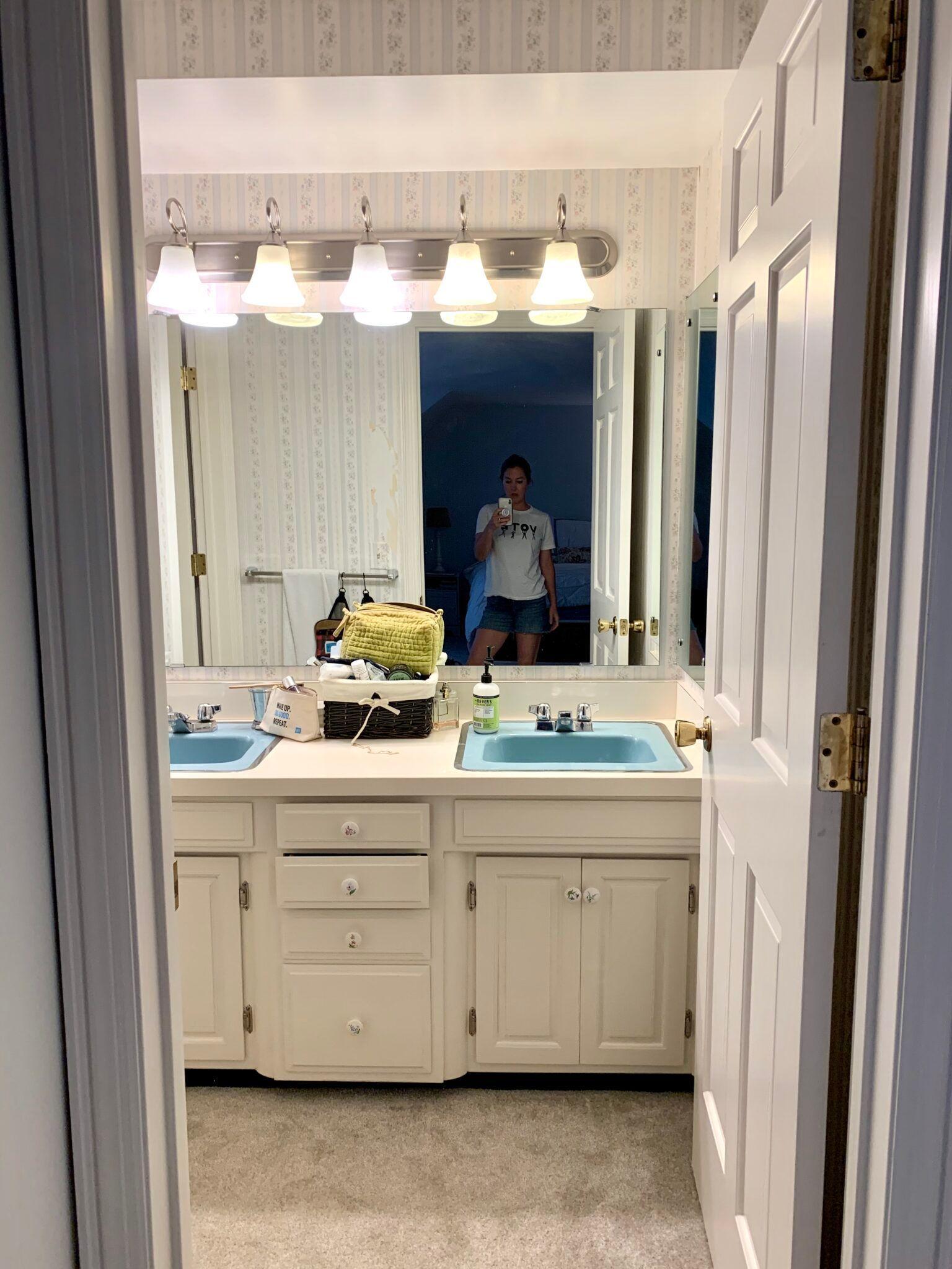 Plans For Updating Our Retro Master Bathroom Building Bluebird In 2020 Retro Bathrooms Bathroom Design Vintage Bathrooms