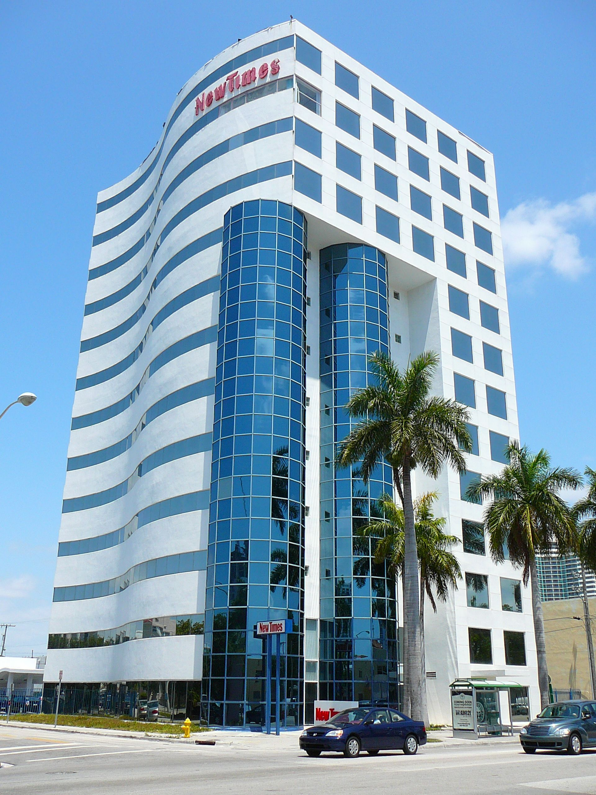 Miami New Times Building Miami Building Building Downtown Development
