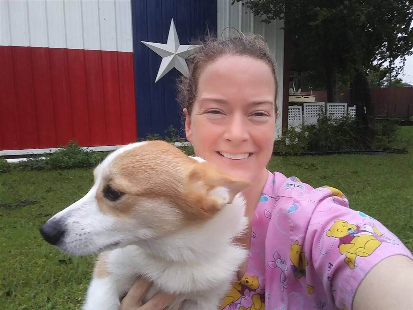 Meet the woman who refused to abandon 20 dogs to Harvey
