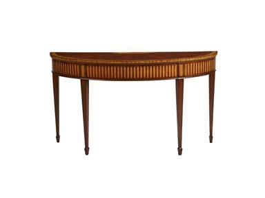 Shop+for+Ethan+Allen+Newman+Demilune+Sofa+Table,+349401,+and+other+Living+Room+Tables+at+Ethan+Allen+in+Danbury,+CT.