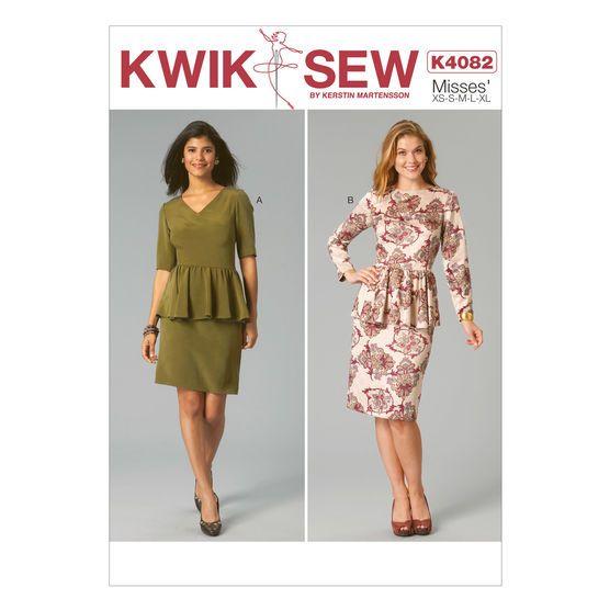 Mccall Pattern K4082 All Sizes - Kwik Sew Pattern
