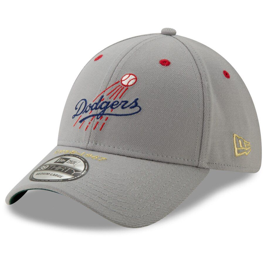 87e776e29e58bb Los Angeles Dodgers New Era Timeline Collection 39THIRTY Flex Hat – Gray,  Your Price: