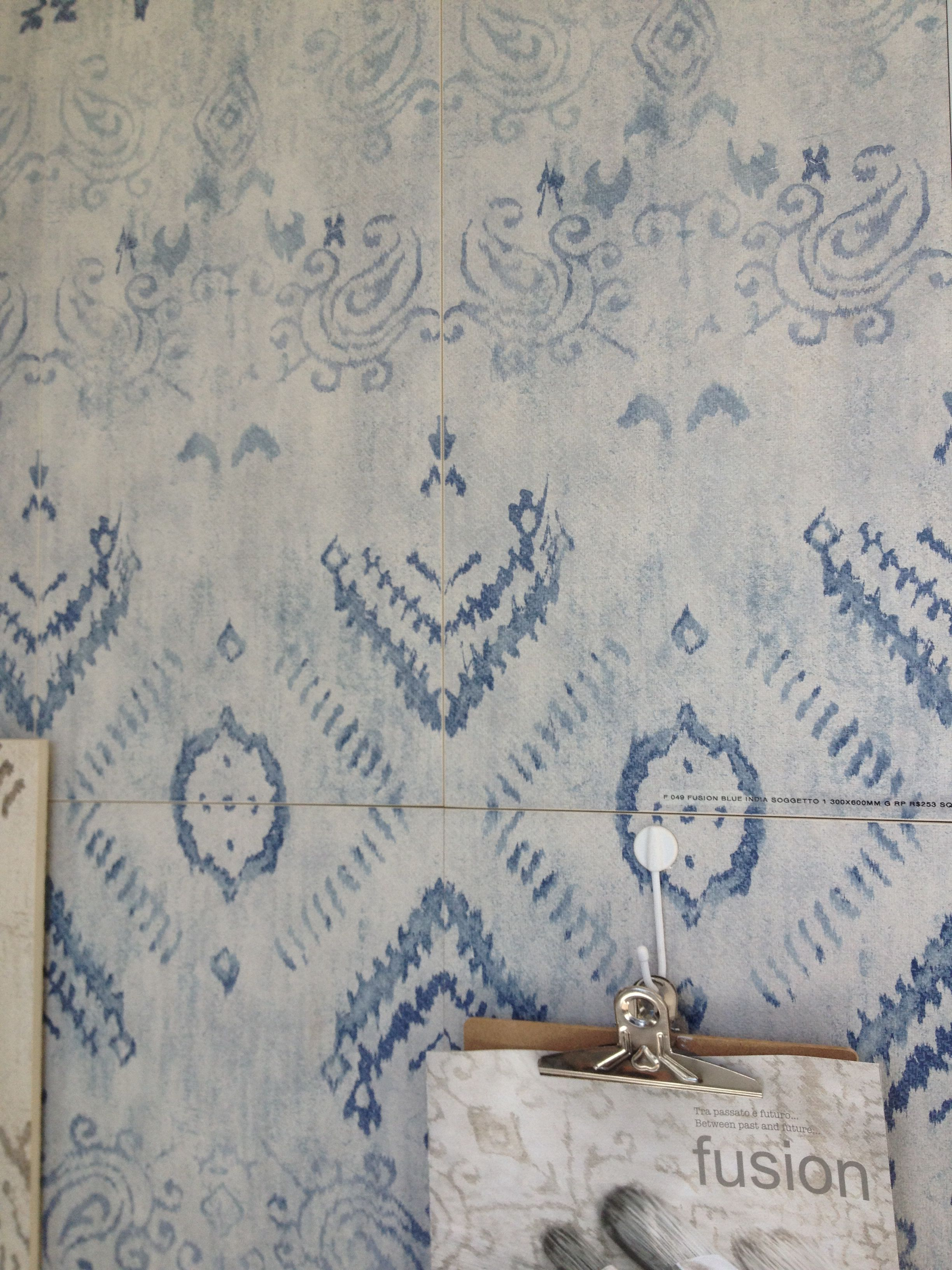 Love love love this tile. Fusion Blue India at Myaree Ceramics ...