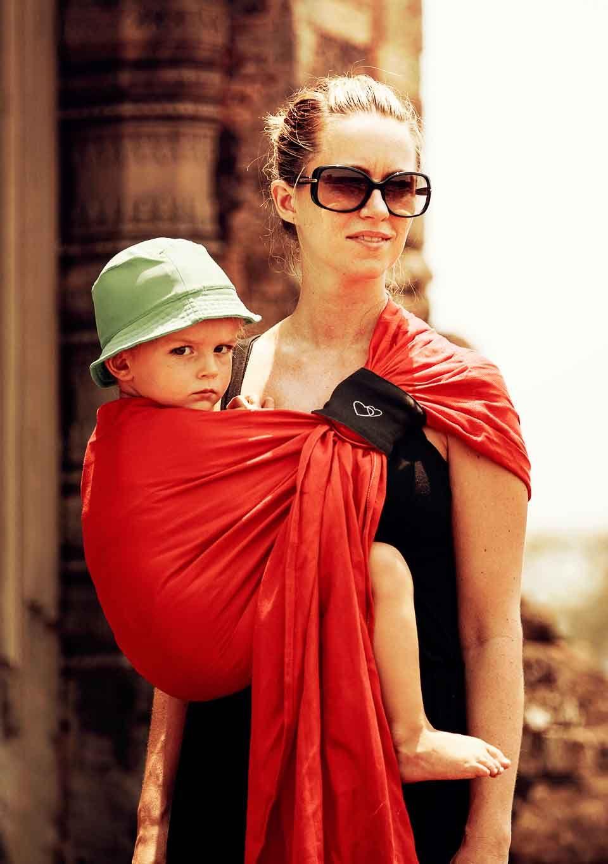 sling porte bambin portage d appoint