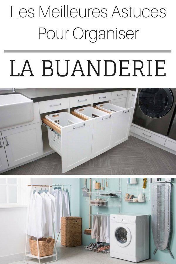 Les meilleures id es pour ranger et organiser la buanderie utility room i - Etagere pour buanderie ...