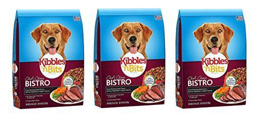 Kibbles N Bits Bistro Oven Roasted Beef Flavor Dry Dog Food