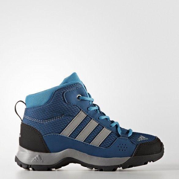 0387c441 Детские ботинки Adidas Terrex Hyperhiker S80826 • Детские утепленные  ботинки на шнуровке • Технология Climaproof защитит