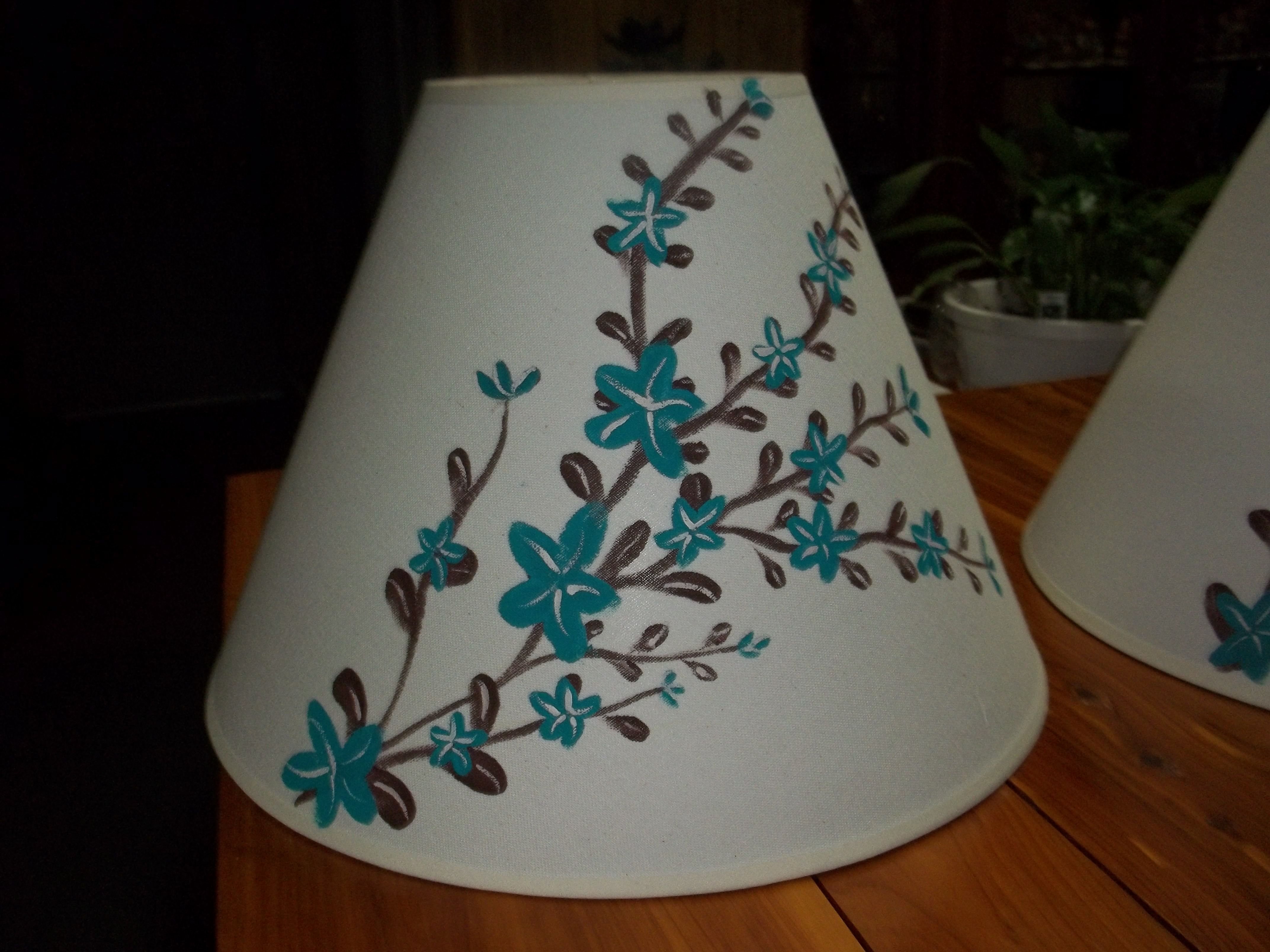 Painted Lamp Shade My Painted Stuff Pinterest