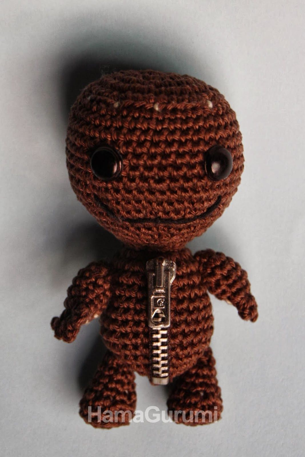 Sackboy de Little Big Planet - HamaGurumi | Crochet I Like - TV ...