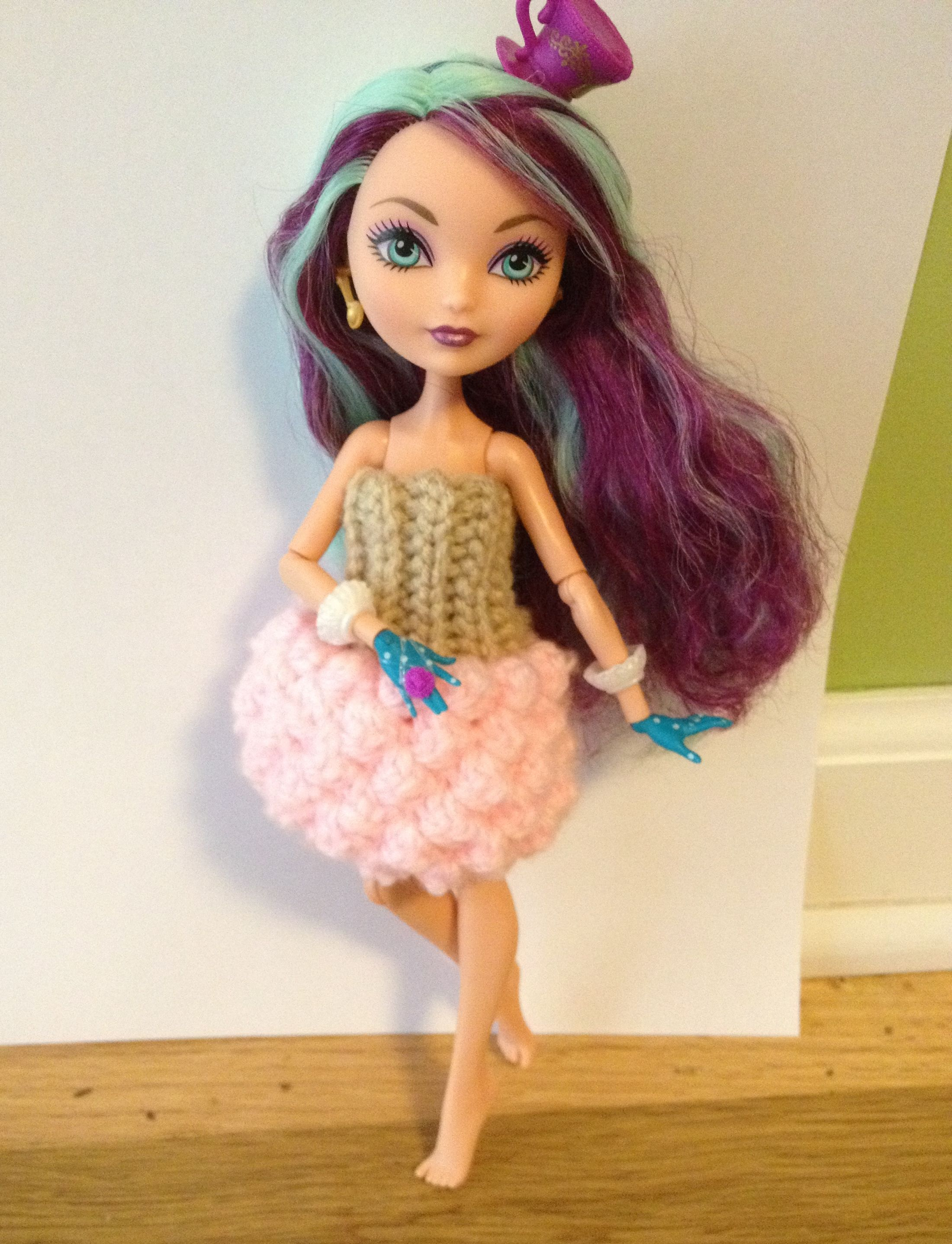 Ever after high cupcake dress free crochet pattern free ever after high cupcake dress free crochet pattern bankloansurffo Choice Image