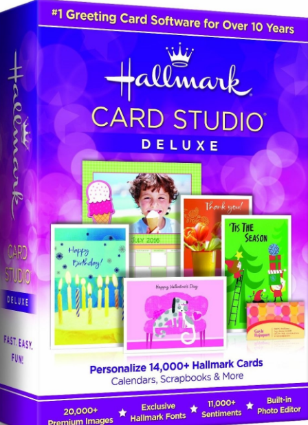 Hallmark Card Studio 2017 Deluxe Crack has Import your own digital pictures to the comes Make calendars, acknowledgment cards, exposure cards, etc.
