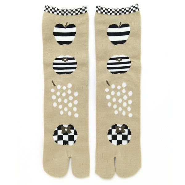 SOU • SOU US Online Store » Tabi Socks Fruits(Mid Calf)Women