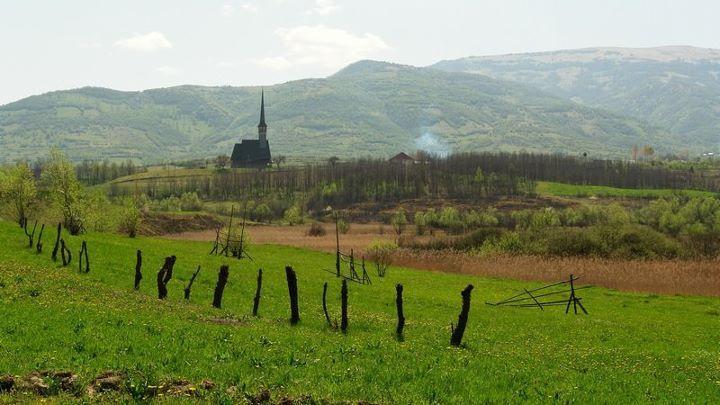 The Church from Ieud, Maramureș.  Author: sakartvelo.