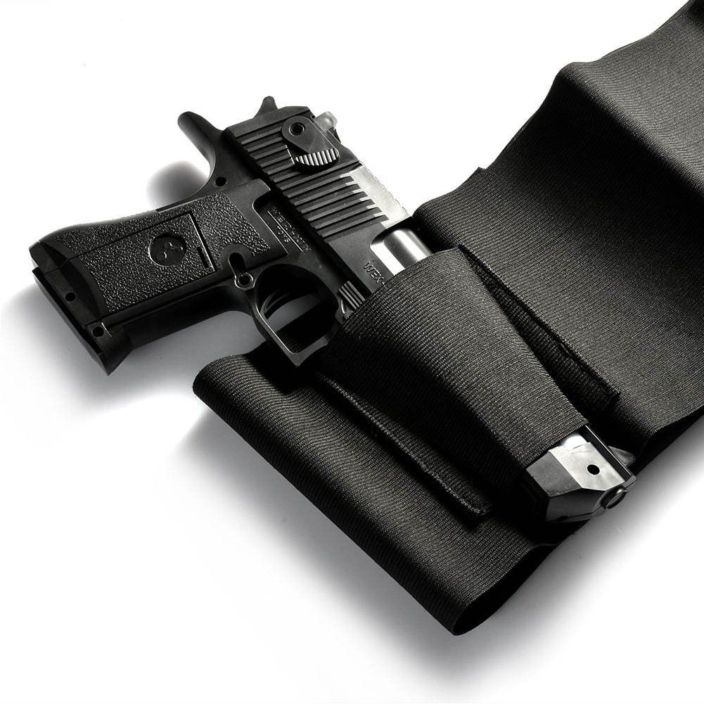 Concealed Carry Belly Band Cross Draw Gun Holster Commando