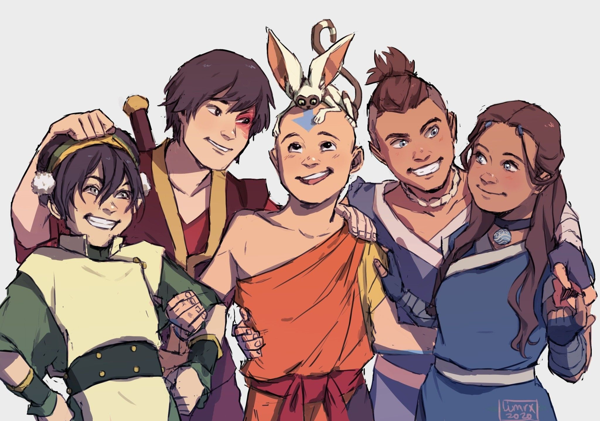 Team Avatar Avatar Airbender Avatar The Last Airbender The Last Avatar