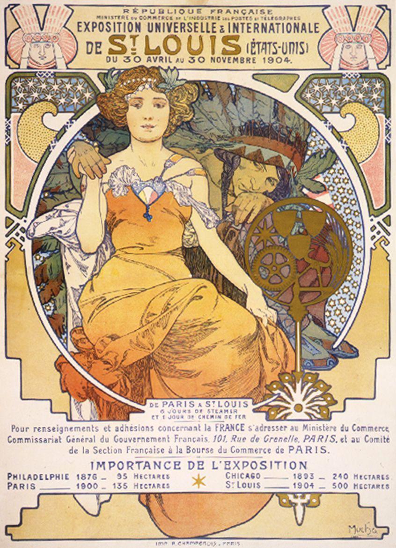 Mucha-Exposition Universelle /& Internationale De St Alphonse Louis Alfons