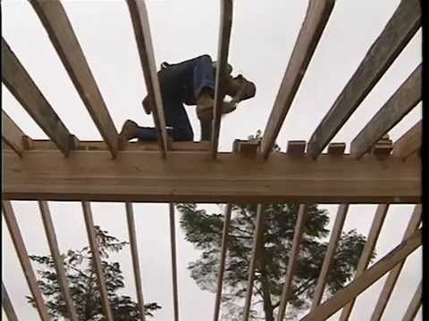 How To Support A Cathedral Ceiling Framing   YouTube