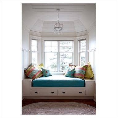 Image Detail For Gap Interiors Daybed By Bay Window
