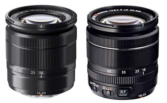 Fujinon Xc 16 50mm Vs Fujinon Xf 18 55mm Fujifilm 50mm 18