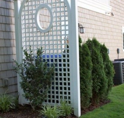 24+ Ideas to hide trash cans outside ideas