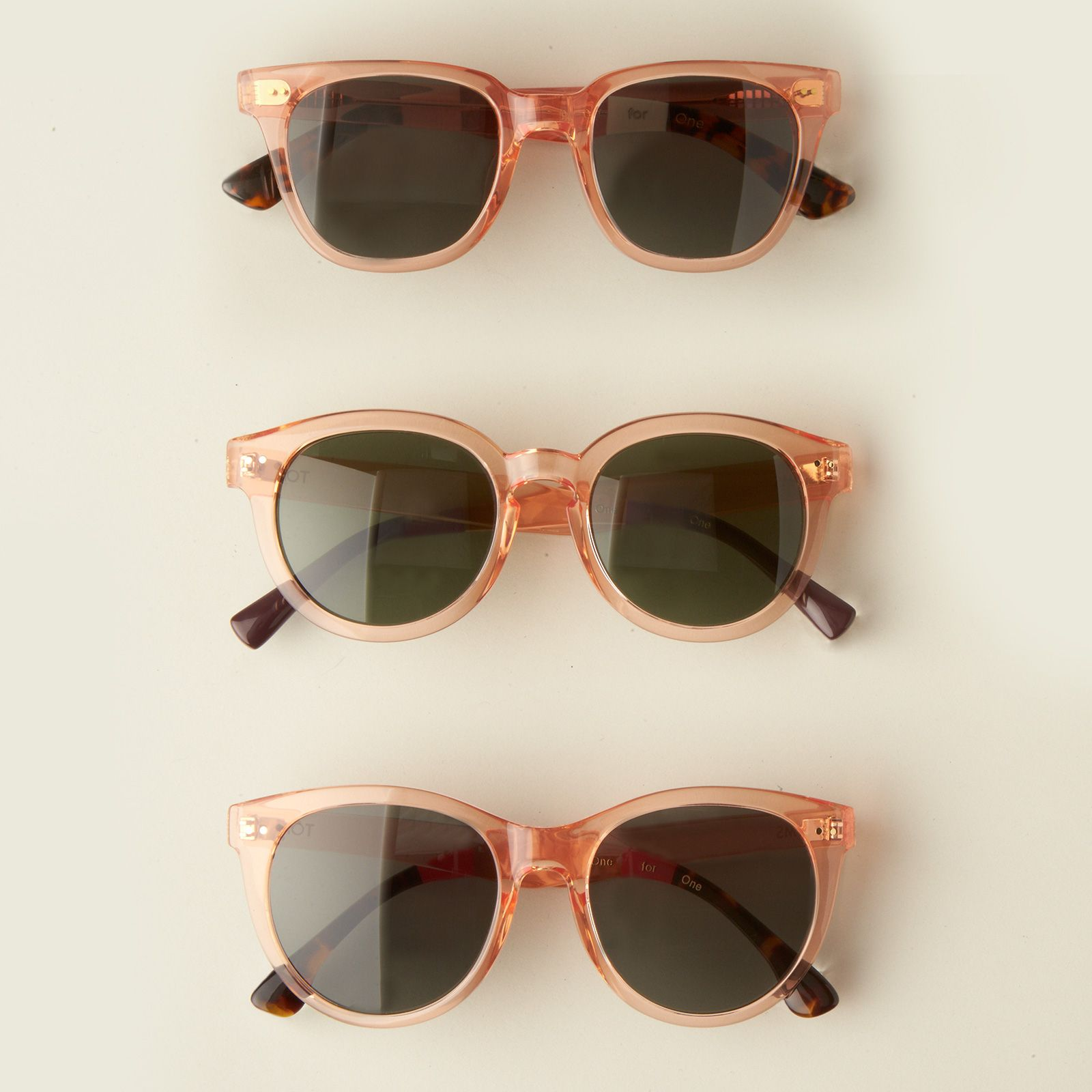 b1dc9955a2e Everything is better through rose glasses.    TOMS Rose Crystal frames