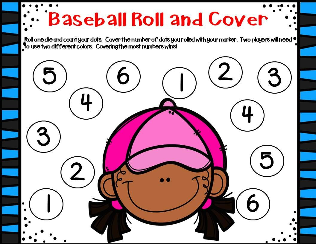 Baseball Unit Literacy Amp Math Activities Amp Center With