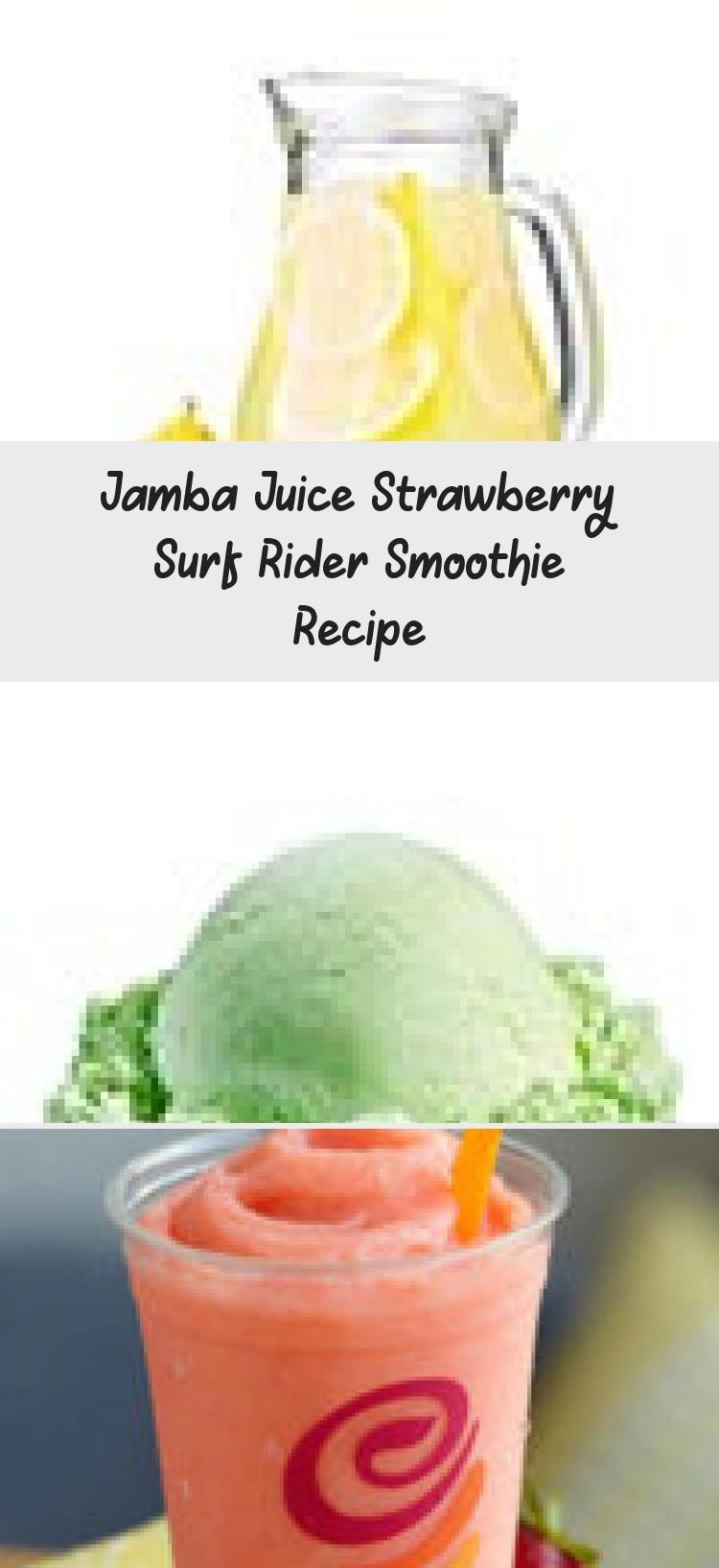 Jamba Juice Strawberry Surf Rider Smoothie Recipe Watermelon Smoothies Jamba Juice Smoothies