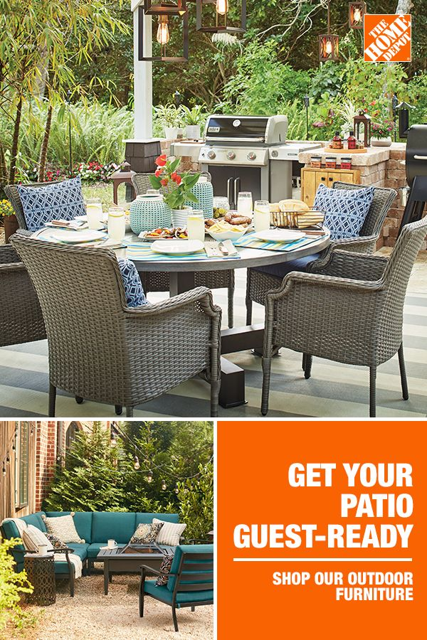 Get Your Patio Guest Ready Beautiful Outdoor Furniture Outdoor Patio Space Outdoor Rooms
