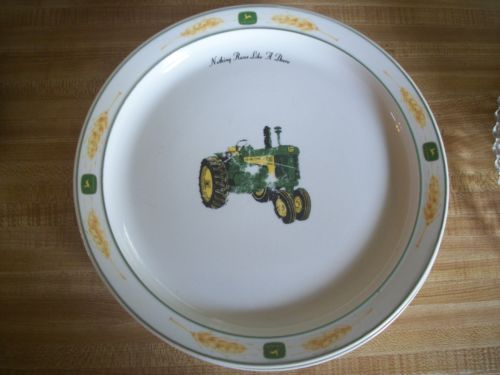 Set of 4 Lg. John Deere 730 Wheat Design Dinner Plates Gibson & Safety 1st Top-of-mattress Bed Rail Cream   Exceed