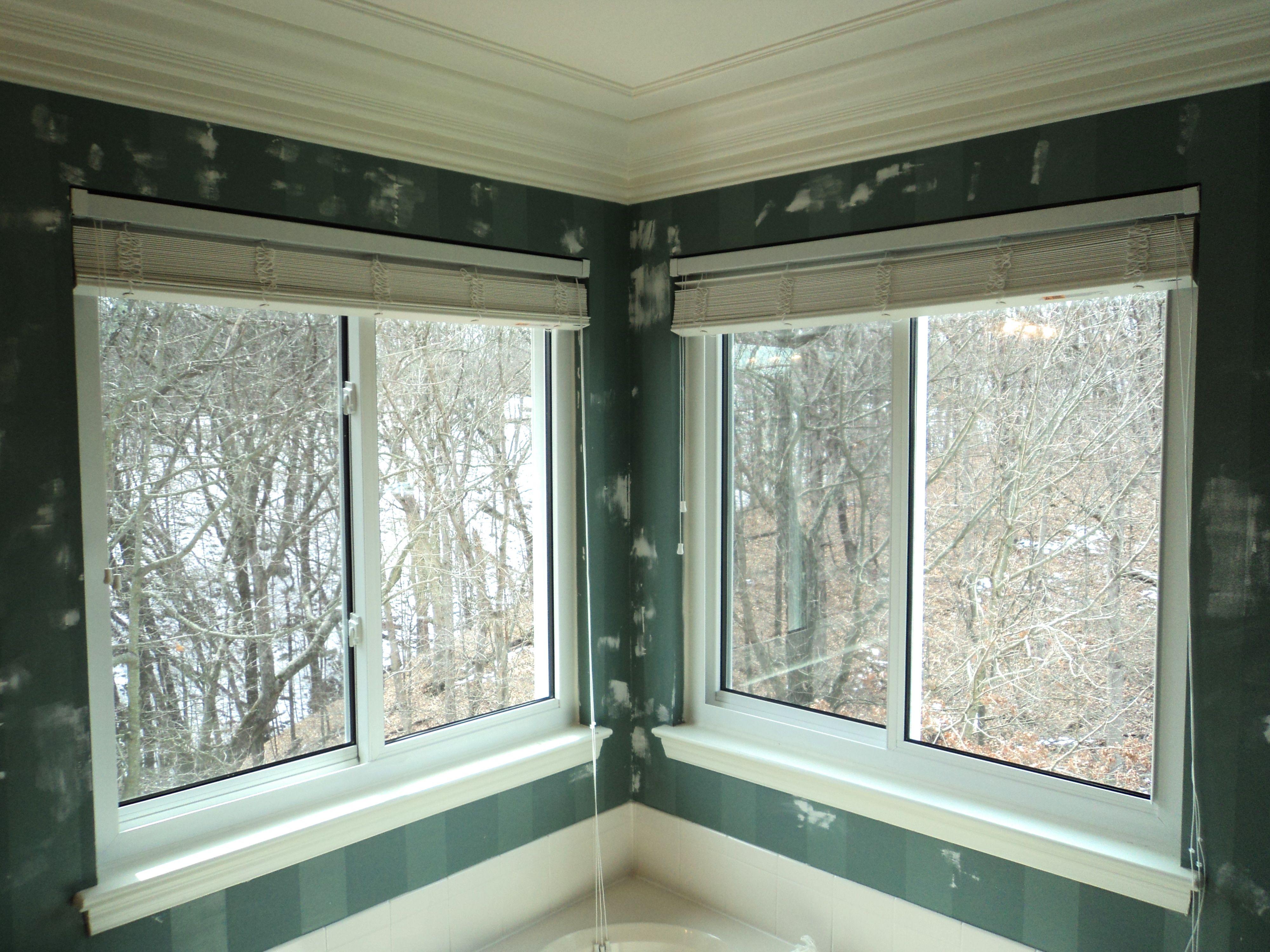 Bathroom Window Jammed window replacement: broken seal to sliding window | bath pictures