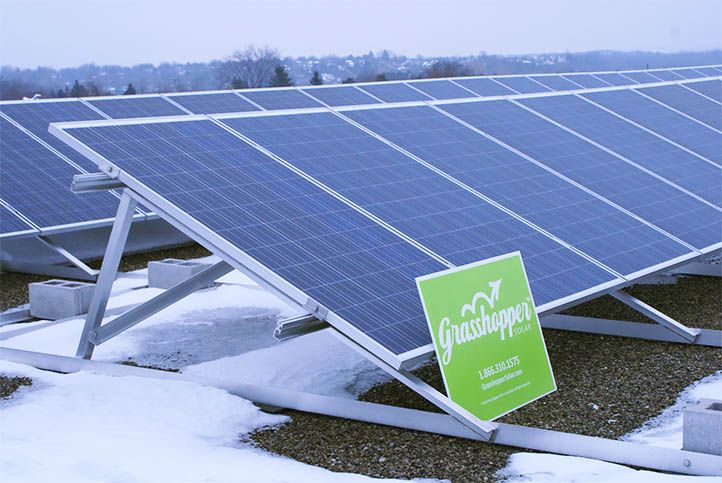 Kortright Hills Public School Gs10 Custom Solar Power System Solar Power System Roof Solar Panel Solar