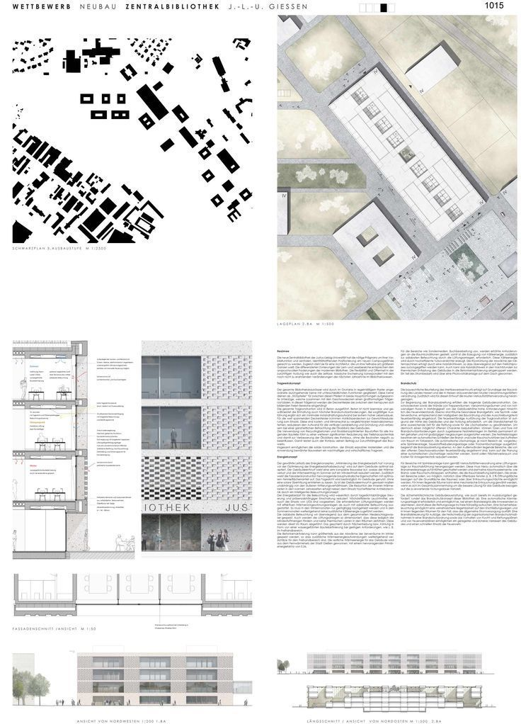 Layout Architektur Präsentation