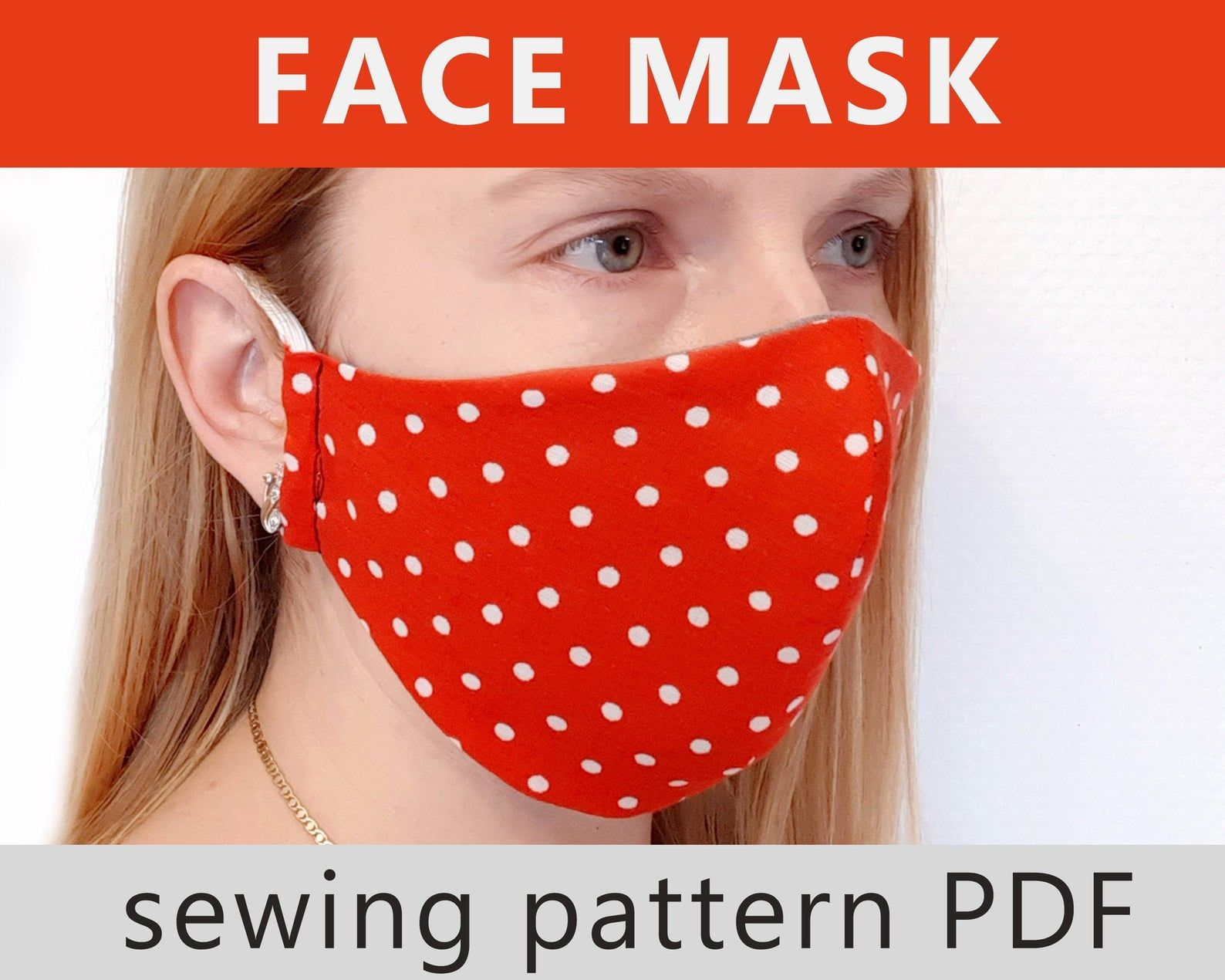 Face Mask Pattern Face Mask Adult Sewing Tutorial