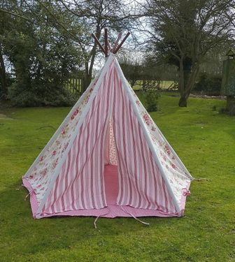 the latest e9672 4658f Floral Teepee from Tesco for glamping | Glamping | Childrens ...