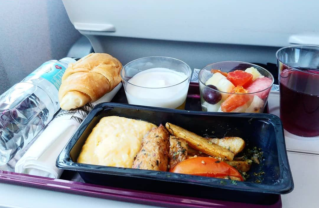 Qatar Airways Economy Class Meals Airline Food Food In Flight Meal