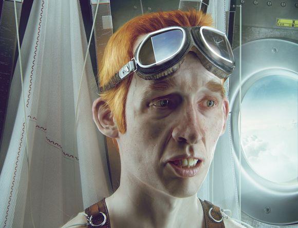 Personagem 3D feito em 30 dias pelo artista Pawel Rebisz
