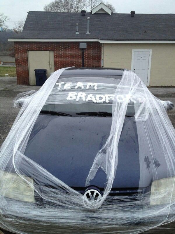 Wet Cotton Balls And Saran Wrap Payback For Toilet Papering My
