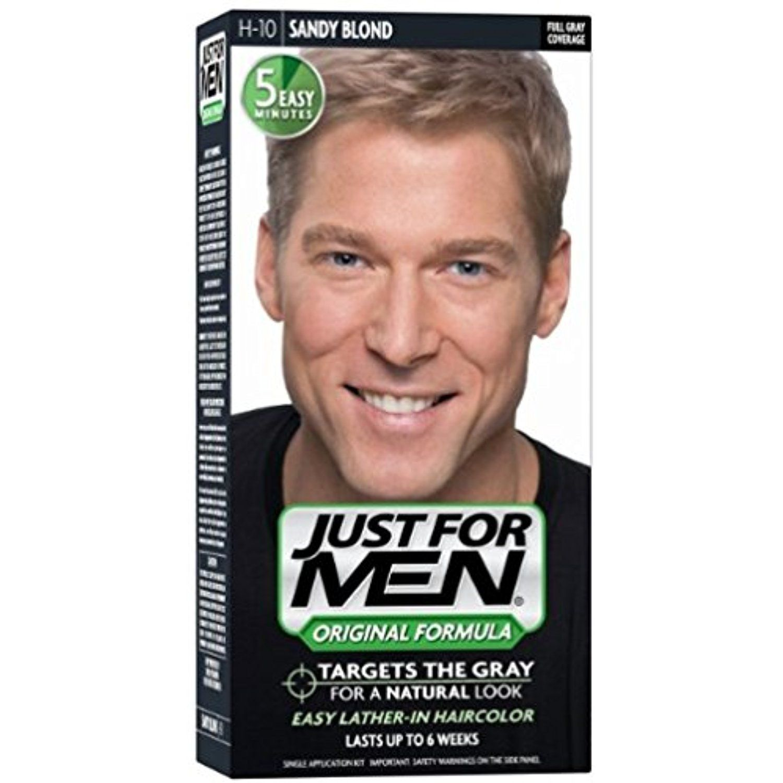 JUST FOR MEN Hair Color H Sandy Blond  ea Pack of  ueueue Be