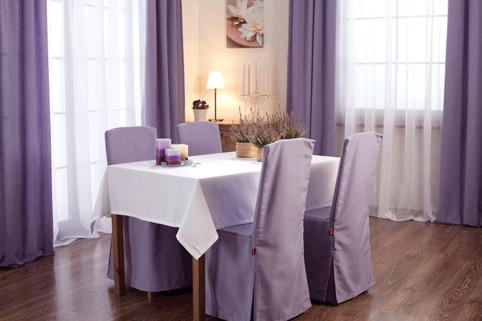 11 levendula és lila különleges függöny megoldás - az étkezőben ...