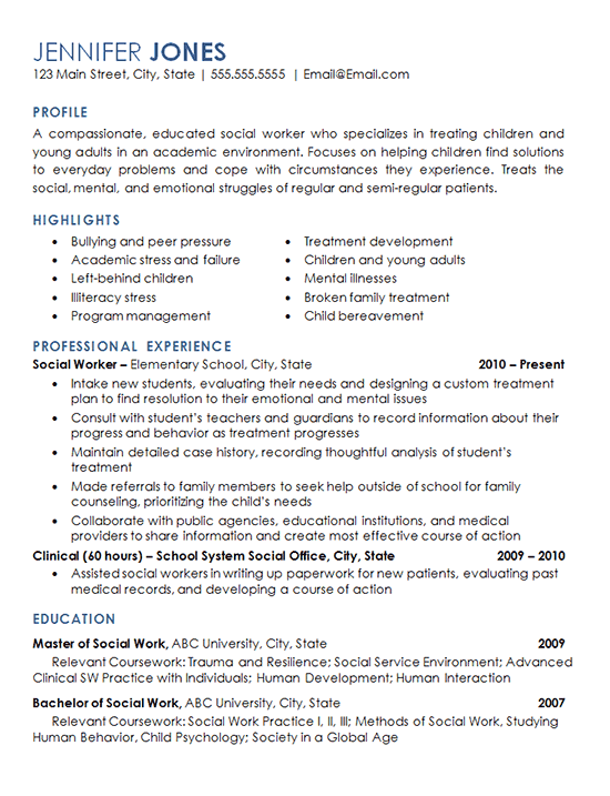 adult professional resume template