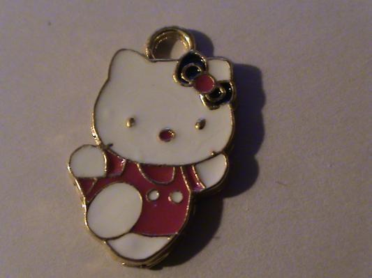 CUTE Hello Kitty Charm- free s/h